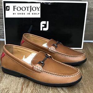 NEW FootJoy FJ Country Club Casual Brown Loafer 7M